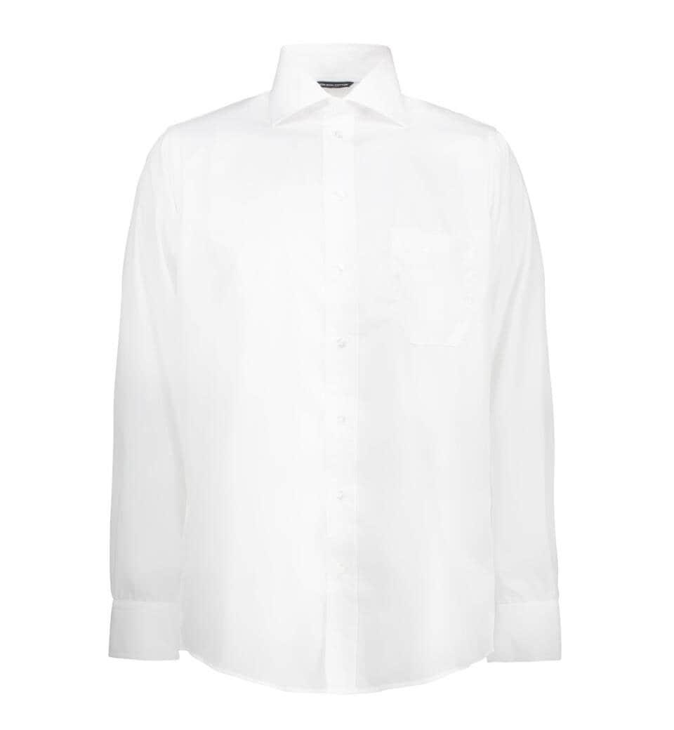 Skjorta poplin - White