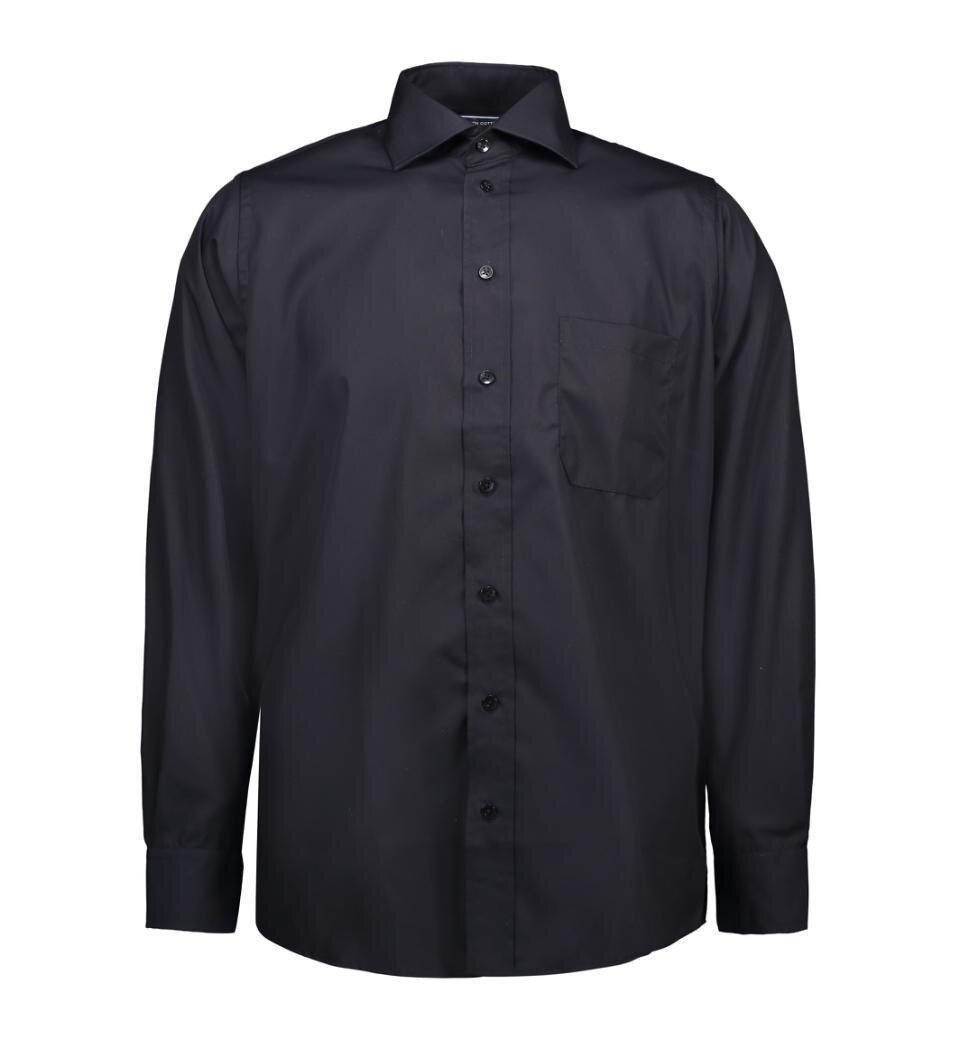 Skjorta poplin - Black