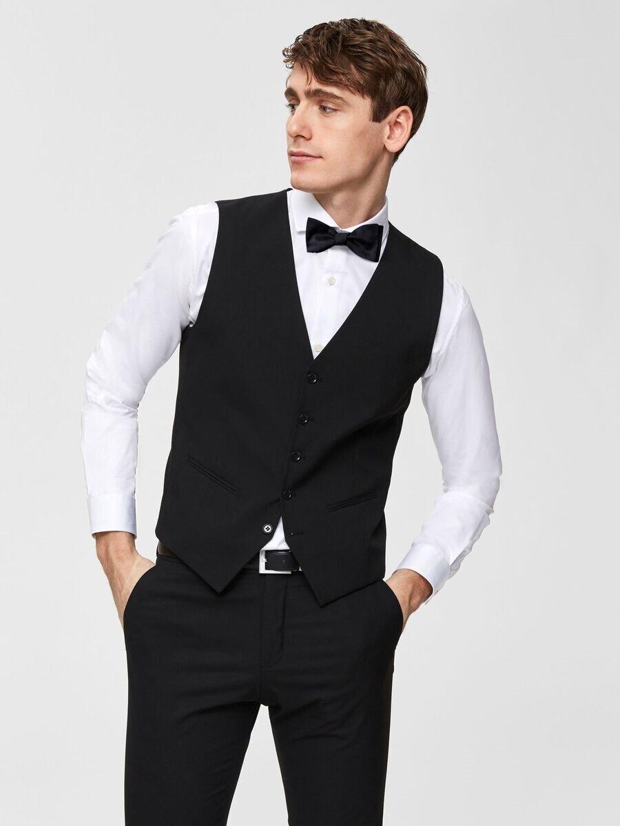 Mylobill Väst Slim Fit - Black