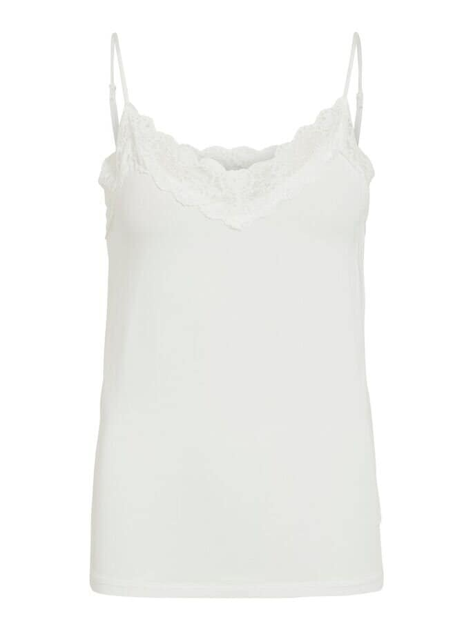 Linne Med Spets - White