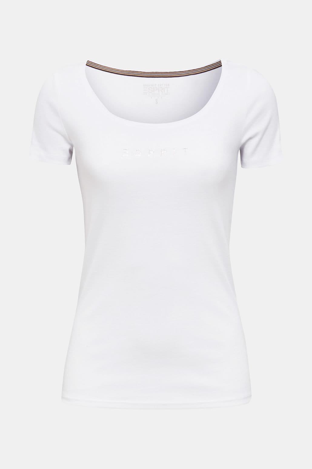 Bastopp Med Logoprint - White