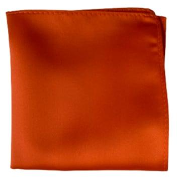 Enfärgad Ficknäsduk - 109 Orange