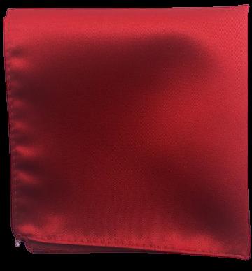 Enfärgad Ficknäsduk - 110 Röd