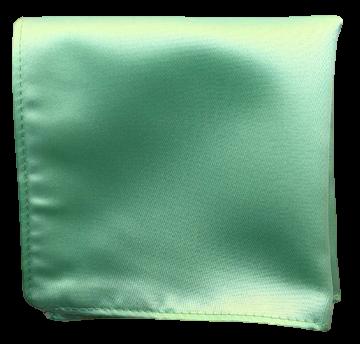 Enfärgad Ficknäsduk - 145 Mintgrön