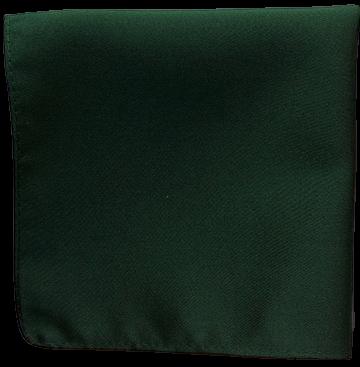 Enfärgad Ficknäsduk - 128 Mörkgrön
