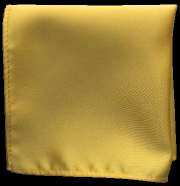 Enfärgad Ficknäsduk - 134 Guldgul
