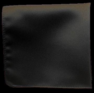 Enfärgad Ficknäsduk - 131 Mörkgrå