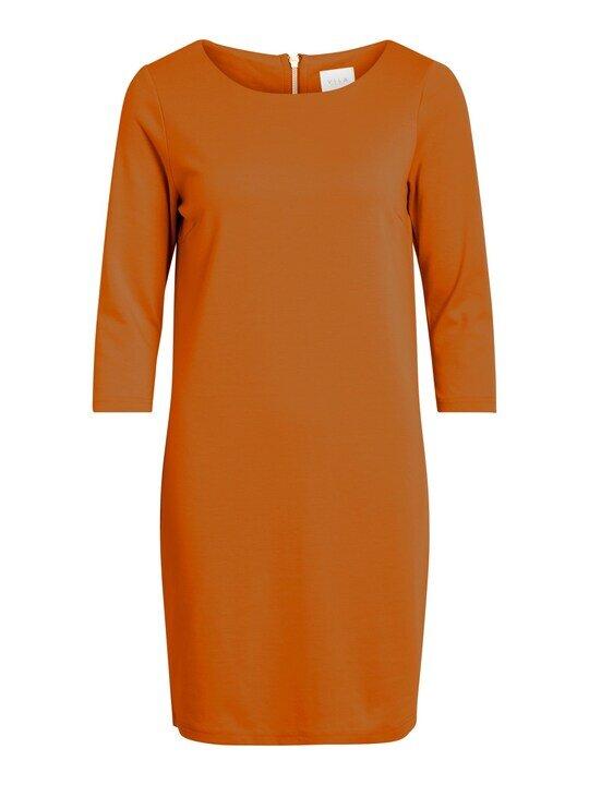 Klänning I Trikå - Pumpkin Spice