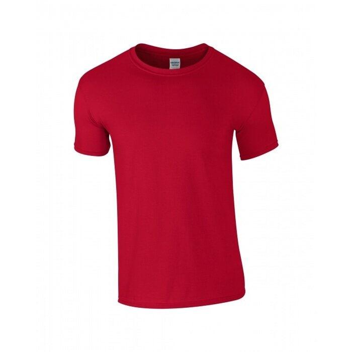 T-shirt I Bomull - Cherry Red