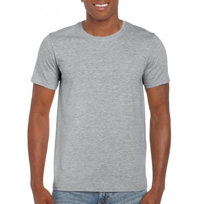 T-shirt I Bomull - Sport Grey