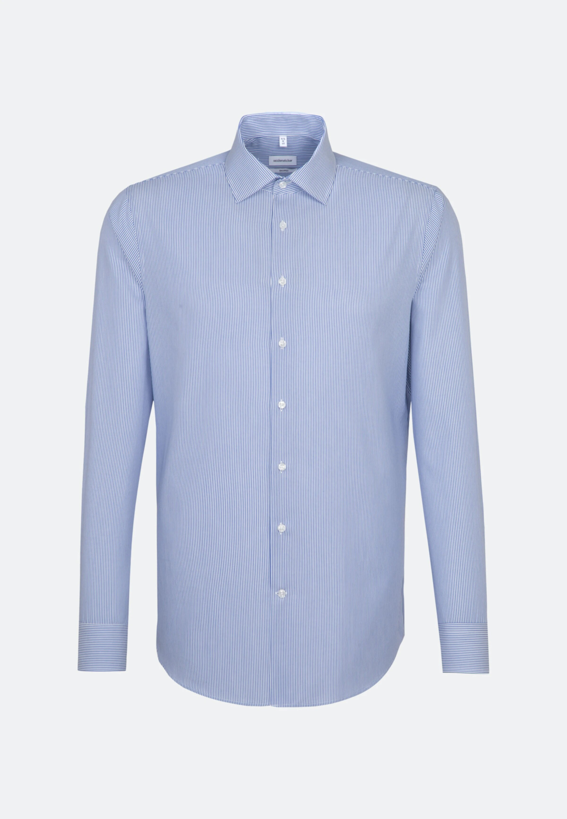 Skjorta Kadettrand Kent - Medium Blue