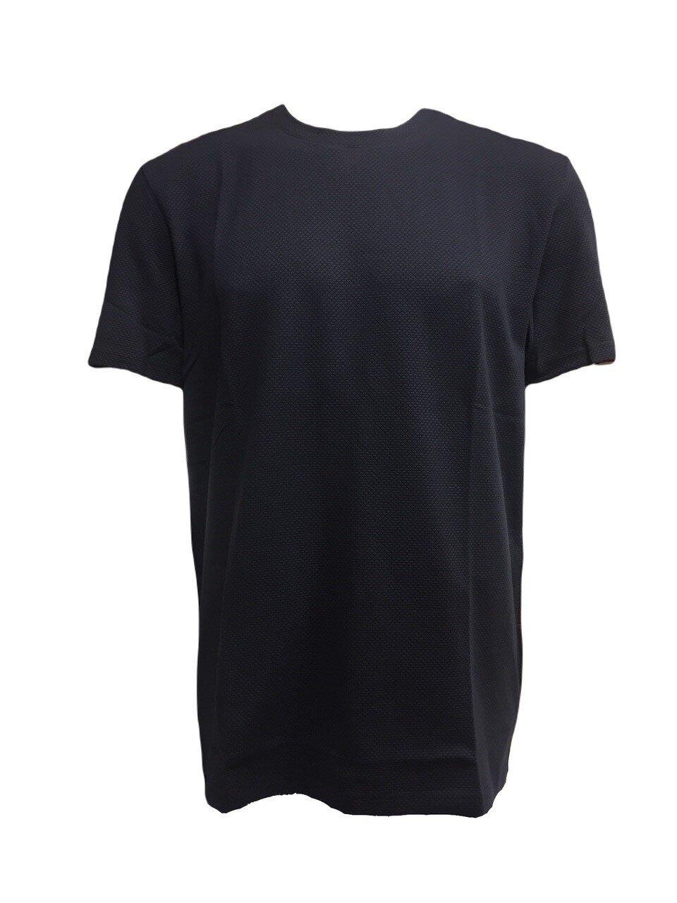 Våfflad T-Shirt O-neck - Sky Captain