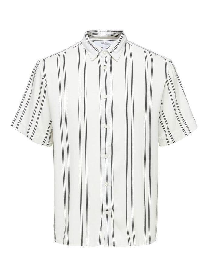 Skjorta i Viskos - Bright White