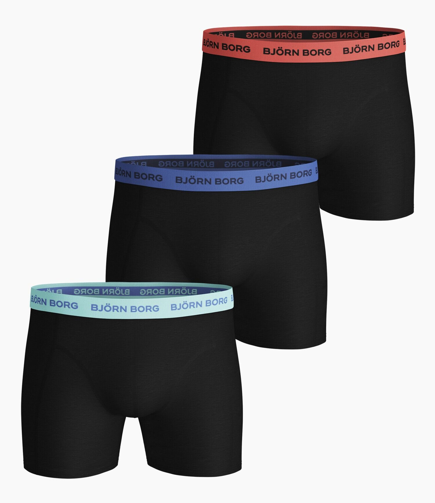 Boxershorts 3-Pack - Black Beauty