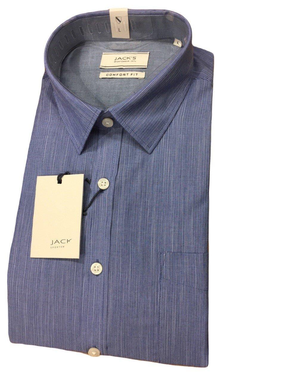 Skjorta I Bomullsmix - Blue