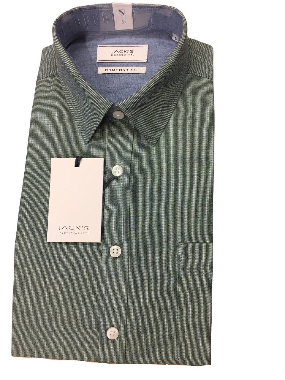Skjorta I Bomullsmix - Green