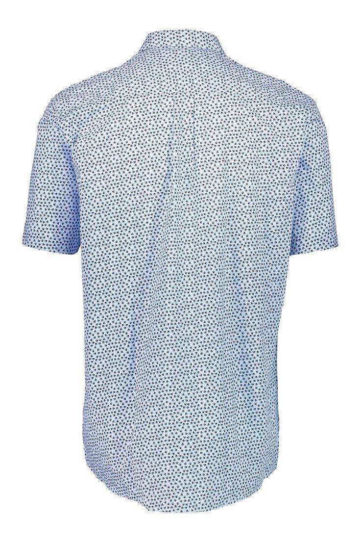 Kortärmad Skjorta - Lt Blue
