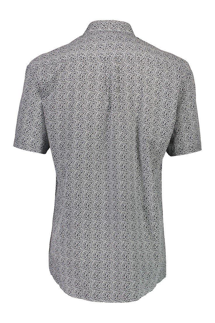 Kortärmad Skjorta - Grey
