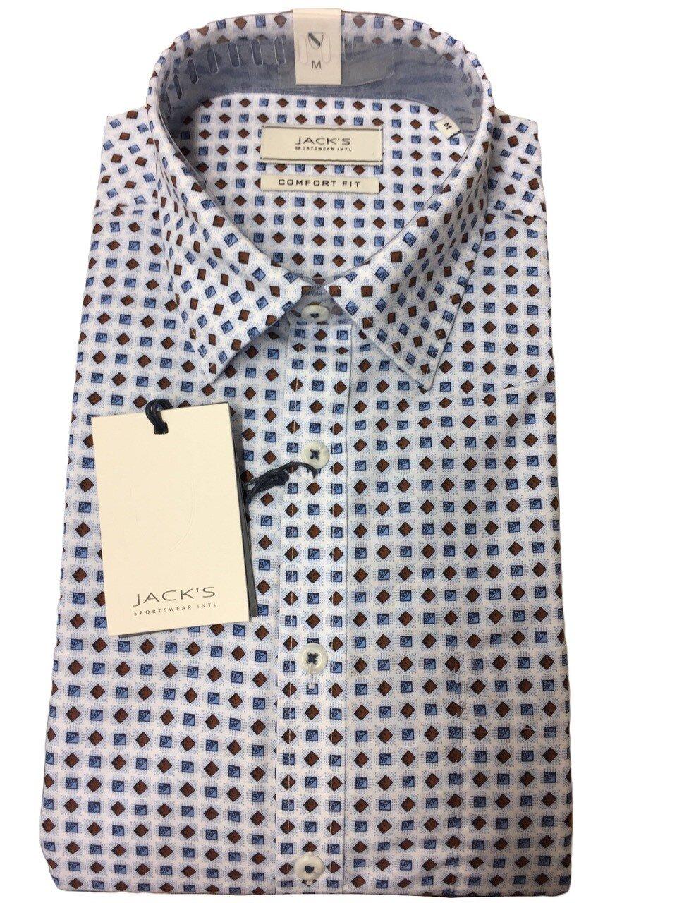 Skjorta i Bomullsmix - White