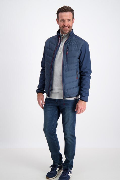 Multi Quilted Jacka - Navy