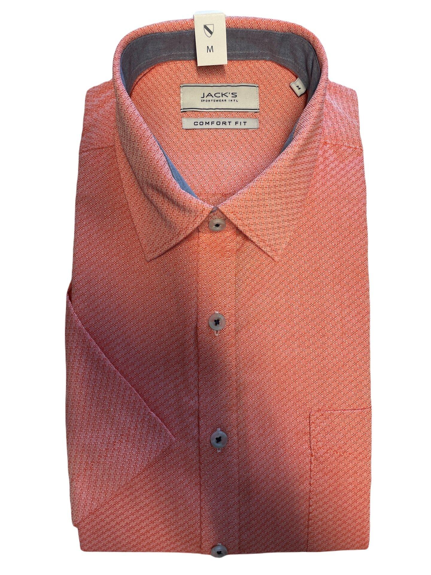 Kortärmad skjorta - Light Orange