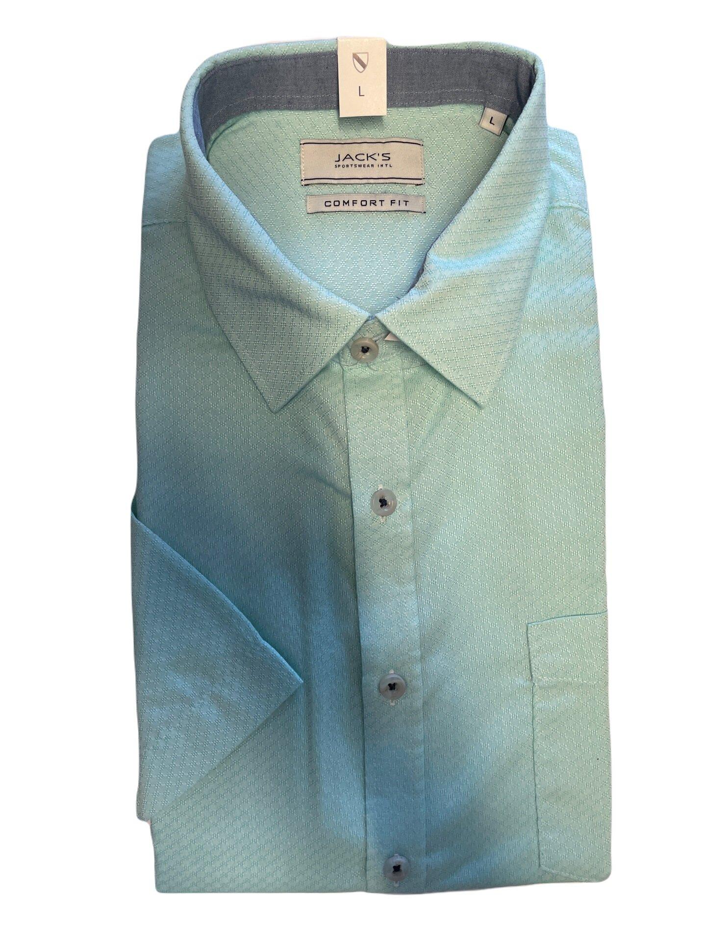 Kortärmad skjorta - Mint
