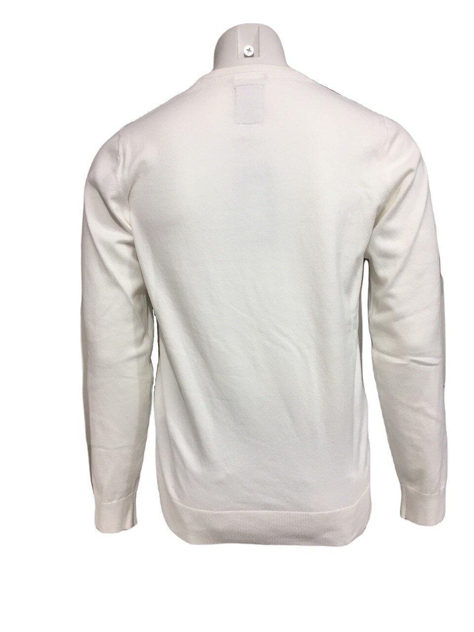 Bomullströja o-neck - Off White