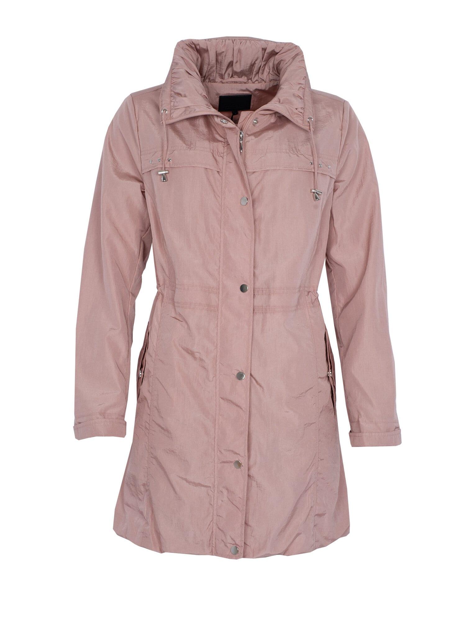 Judit coat Bionic Finish Eco - Dusty Pink
