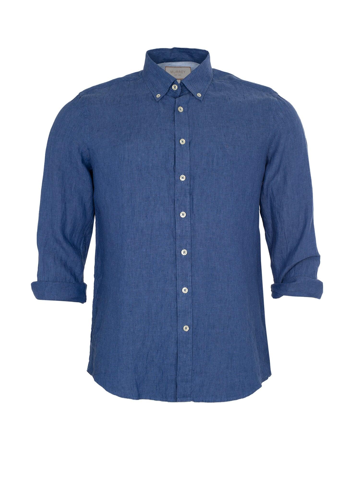 Linneskjorta - Blue