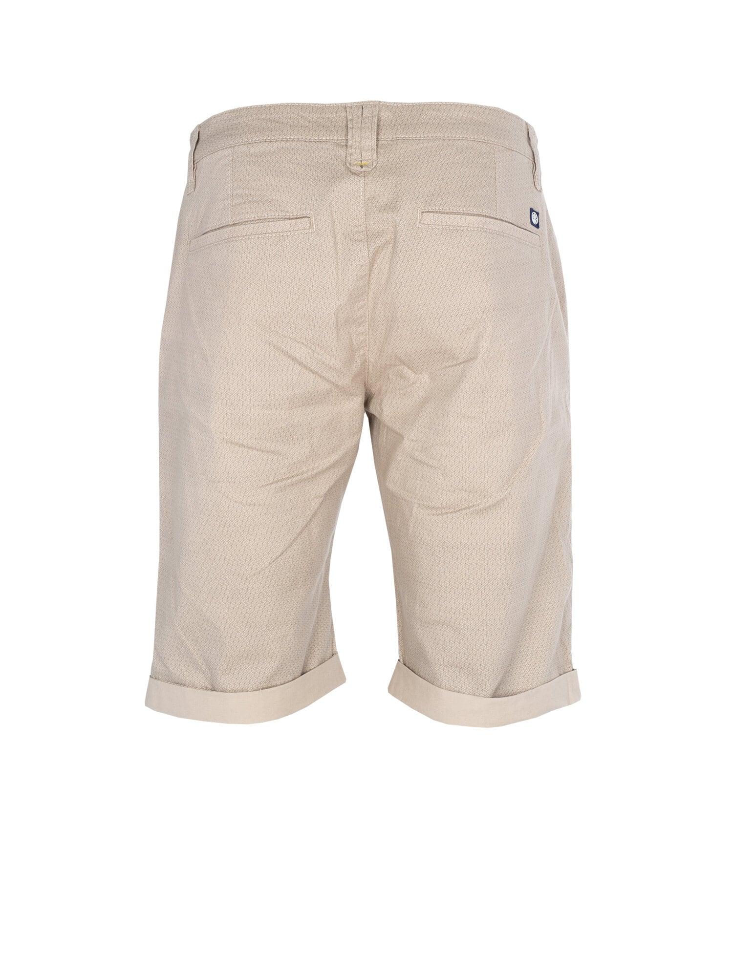 Print Shorts - Lt Sand