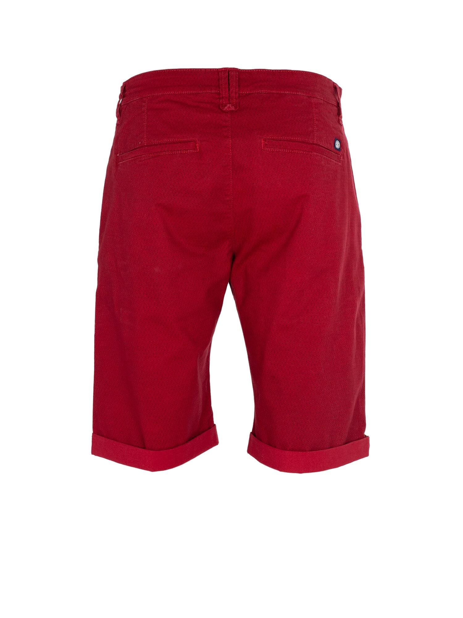 Print Shorts - Lt Red