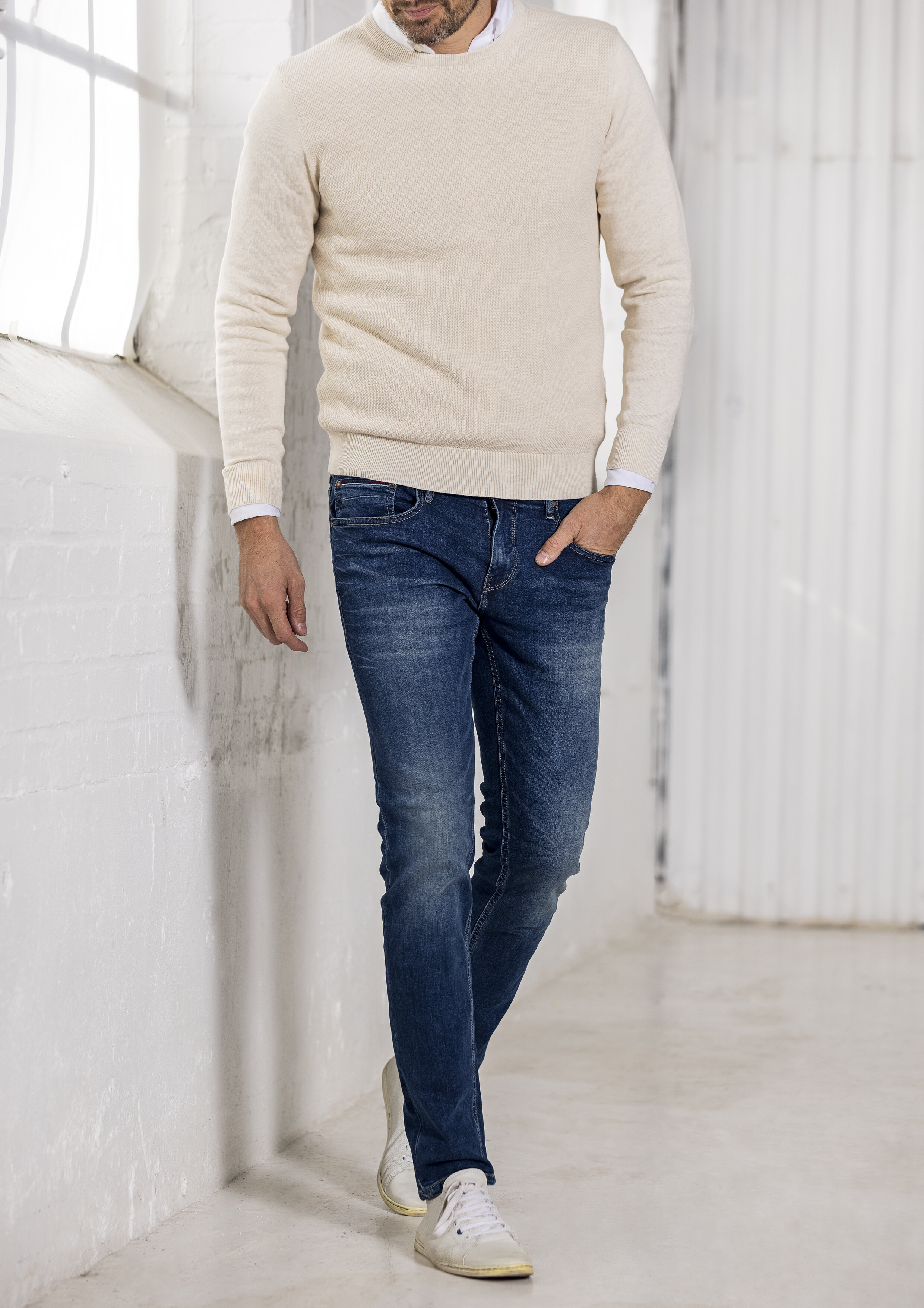 Jeans 5-Pocket Denim - Denim