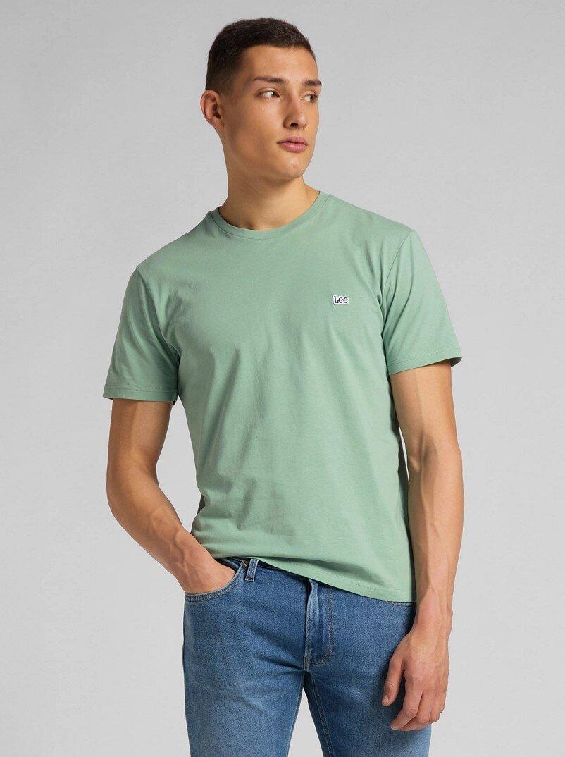 Patch Logo T-Shirt - Granite Green