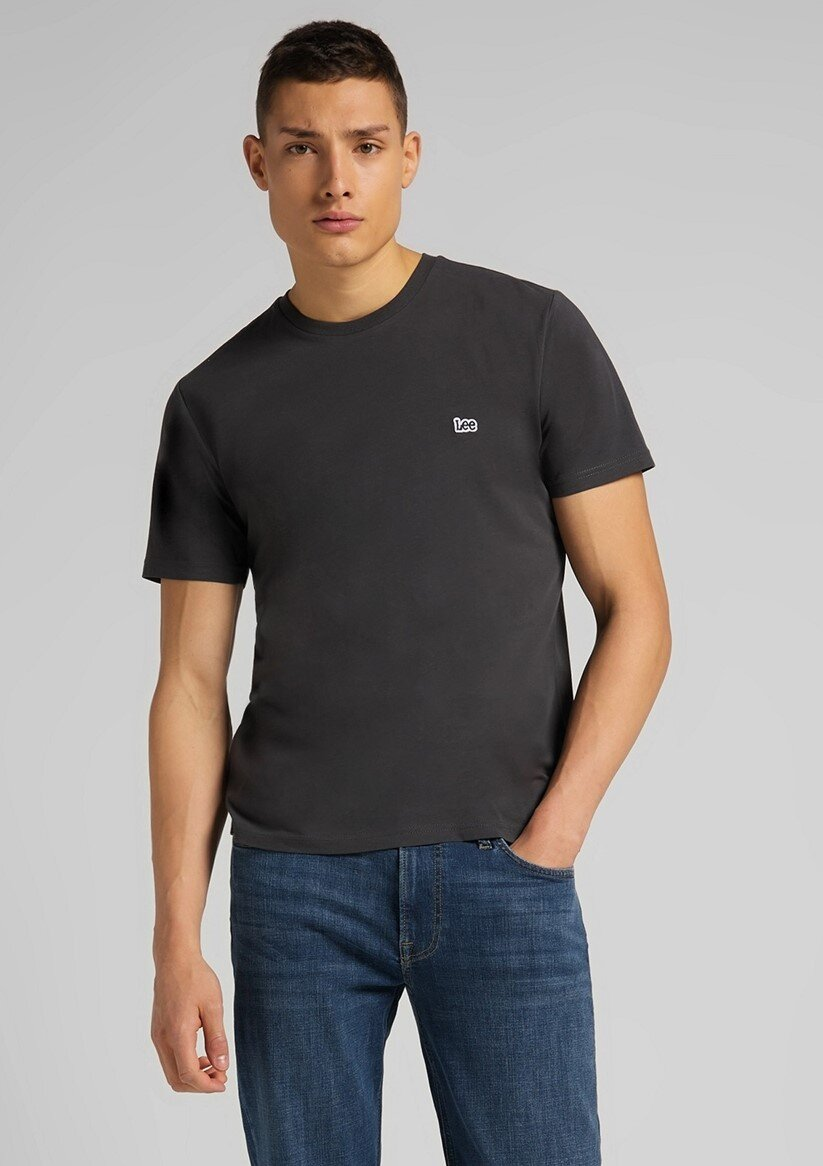 Patch Logo T-Shirt - Washed Black