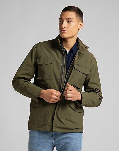 Field Jacket - Olive Green