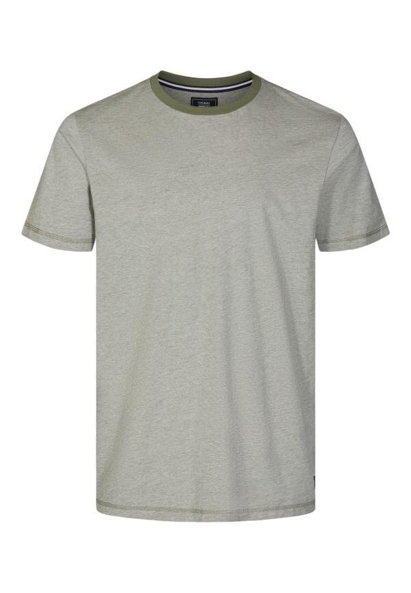 T-Shirt Alvin Organic Stripe - Greene Clover