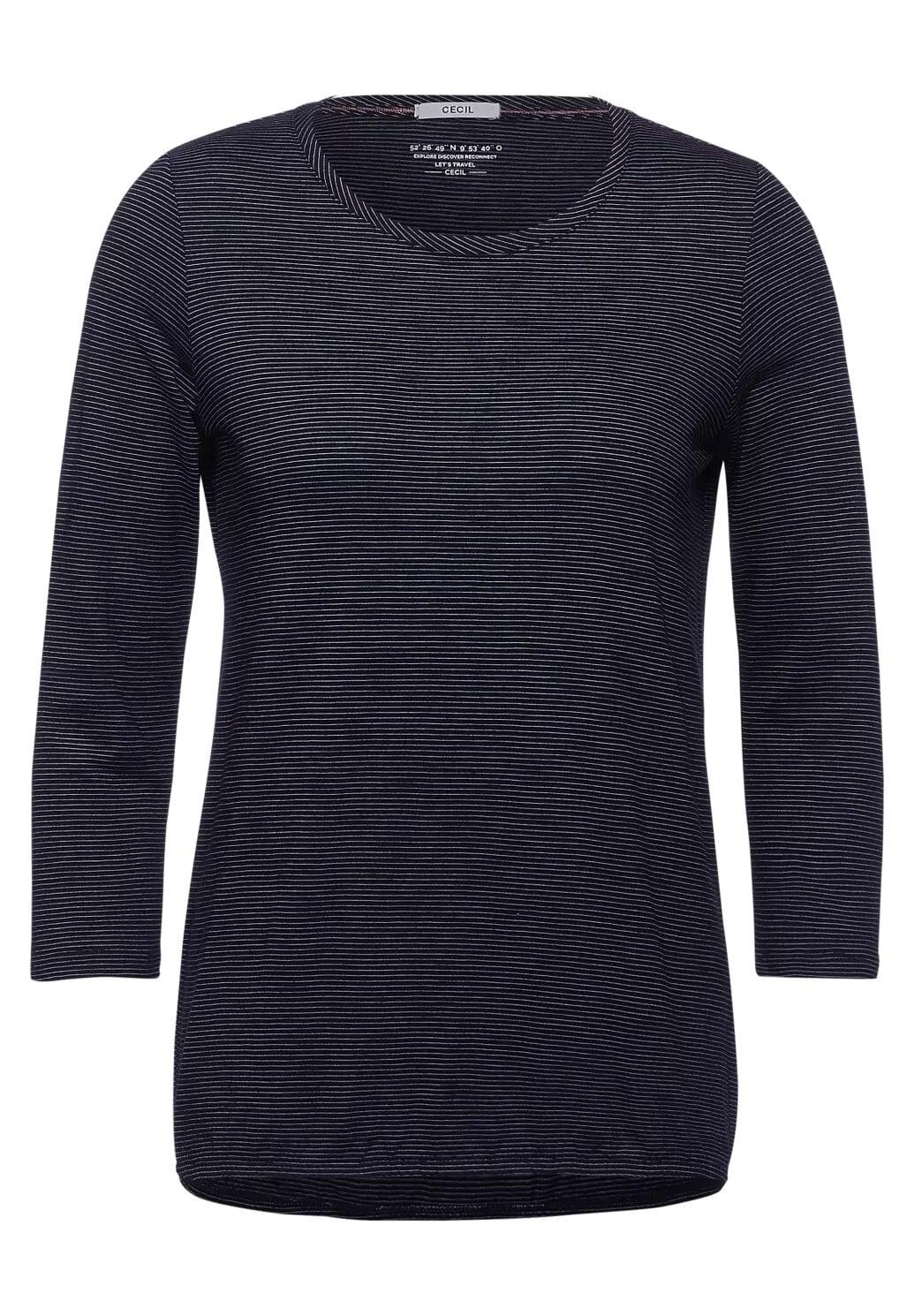 Stripe T-shirt - Grey