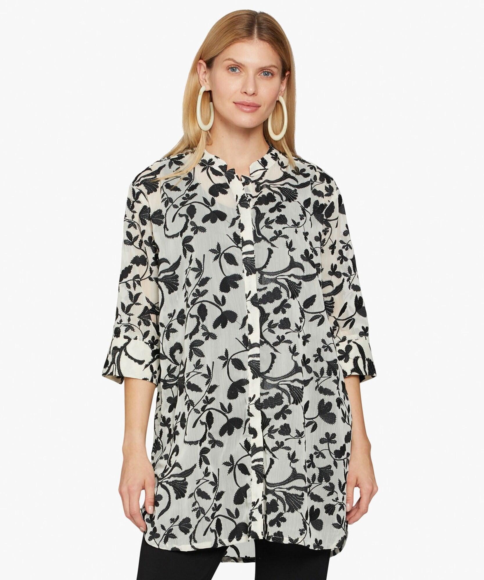 Geam Transparent Skjorta - Black