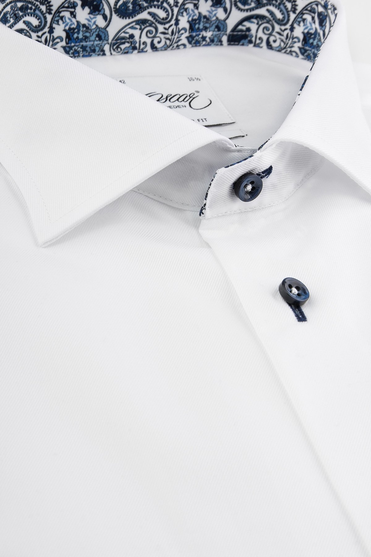 Skjorta Wrinkle Free - Plain White