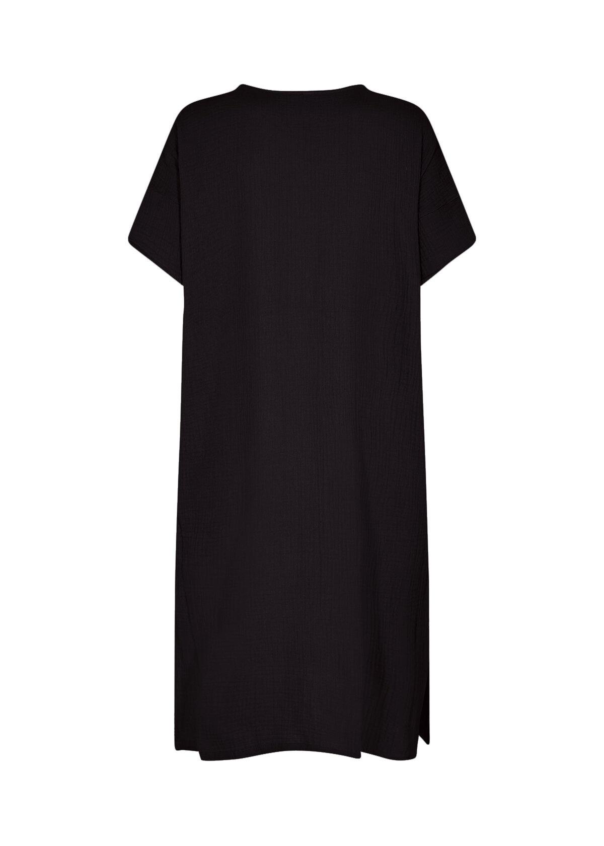 Polina Oversize Klänning - Black