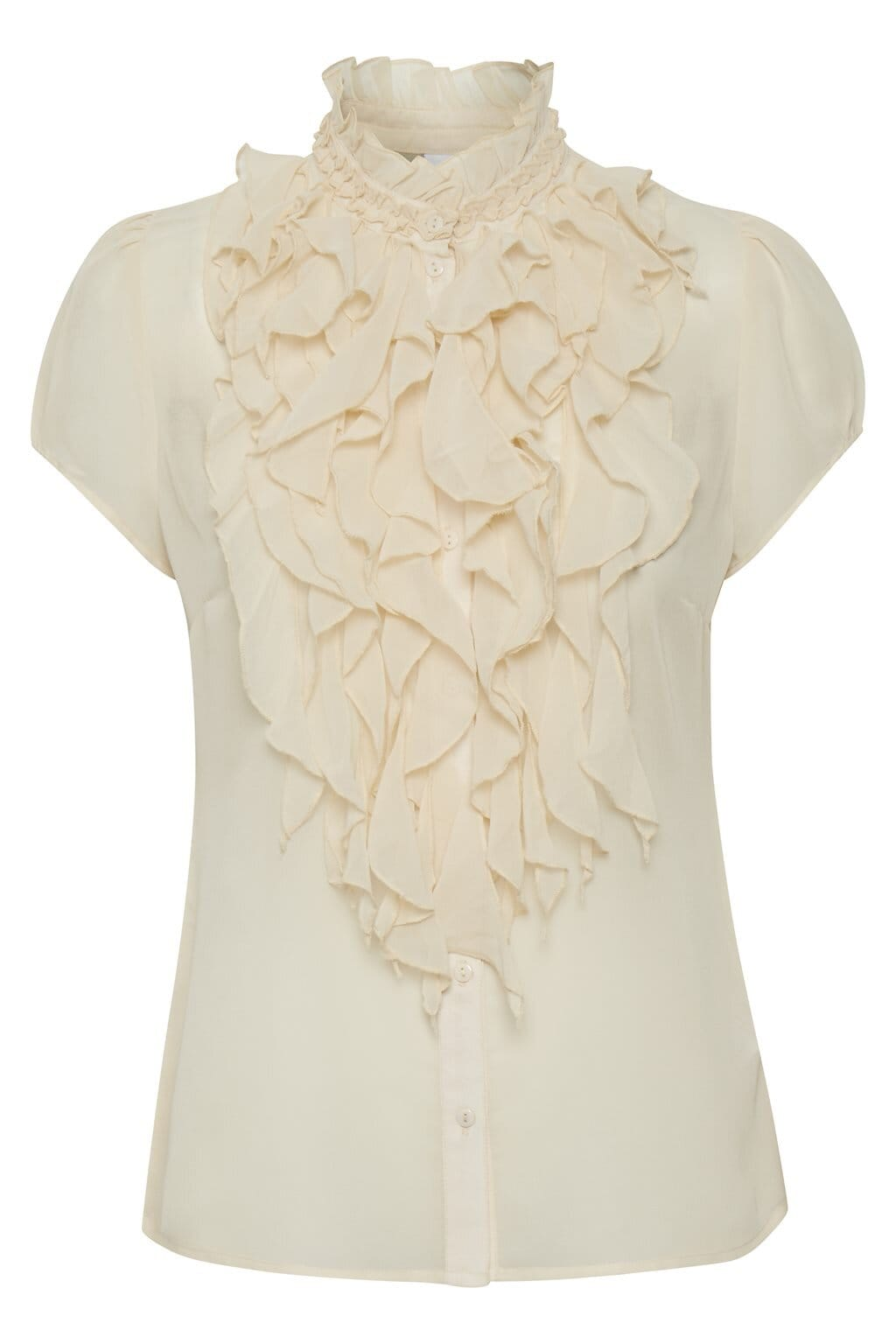 Lilly shirt Krås - Creme