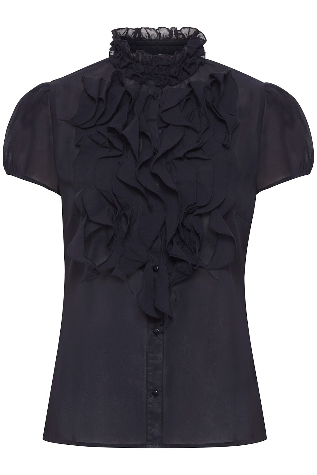 Lilly shirt Krås - Black