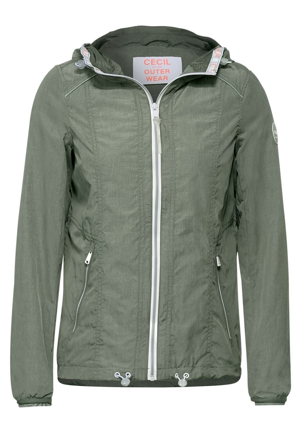 Melange Windbreak Jacket - Soft Khaki