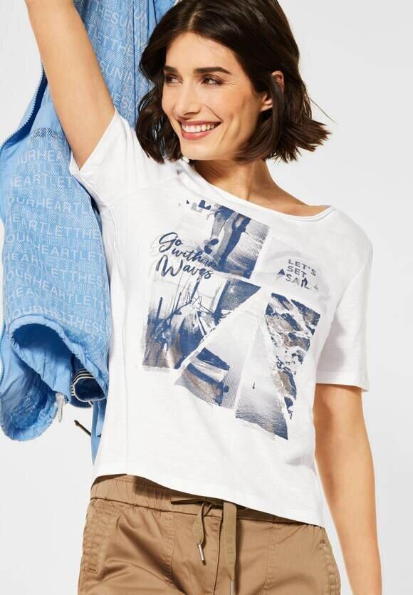 Photoprint T-shirt - Pure Offwhite
