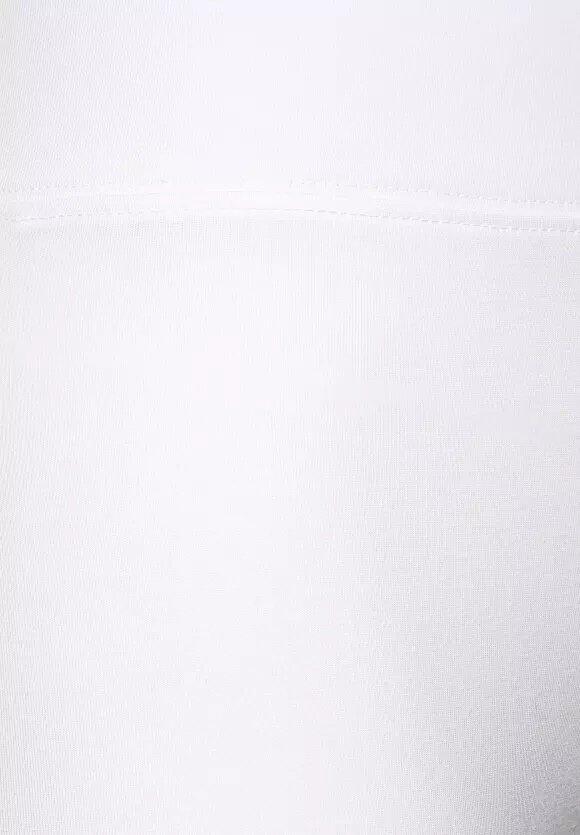 Leggings 7cm Cuff - White