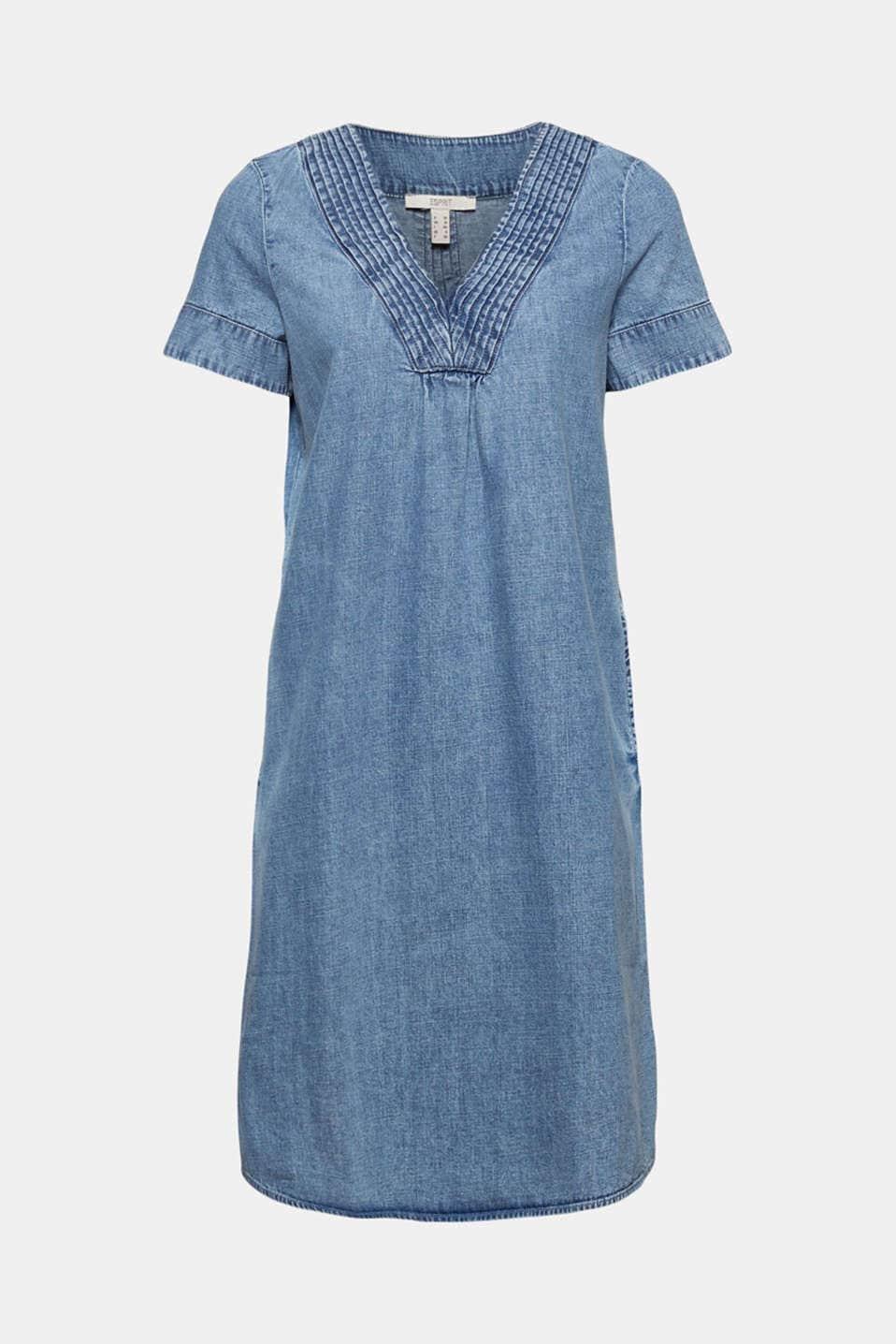 Denim Klänning - Blue Medium Wash