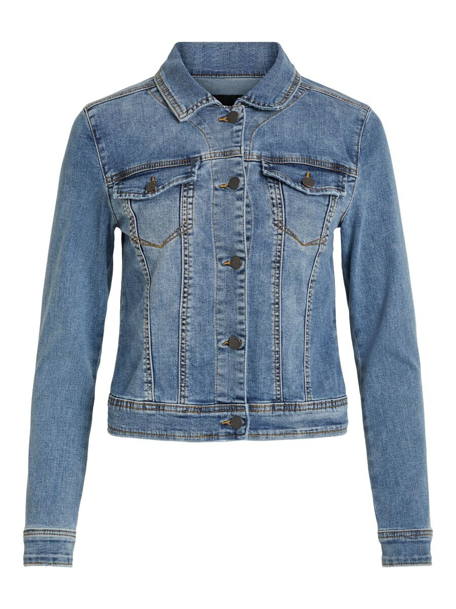 Objwin Jeansjacka  - Medium Blue Denim