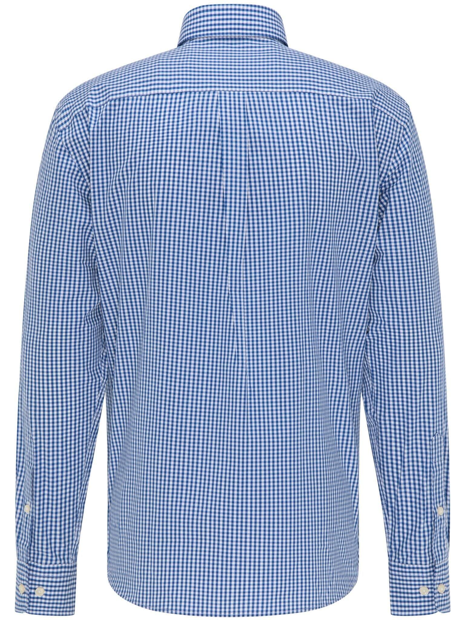 Smårutig Skjorta Twill - Blue Vichy