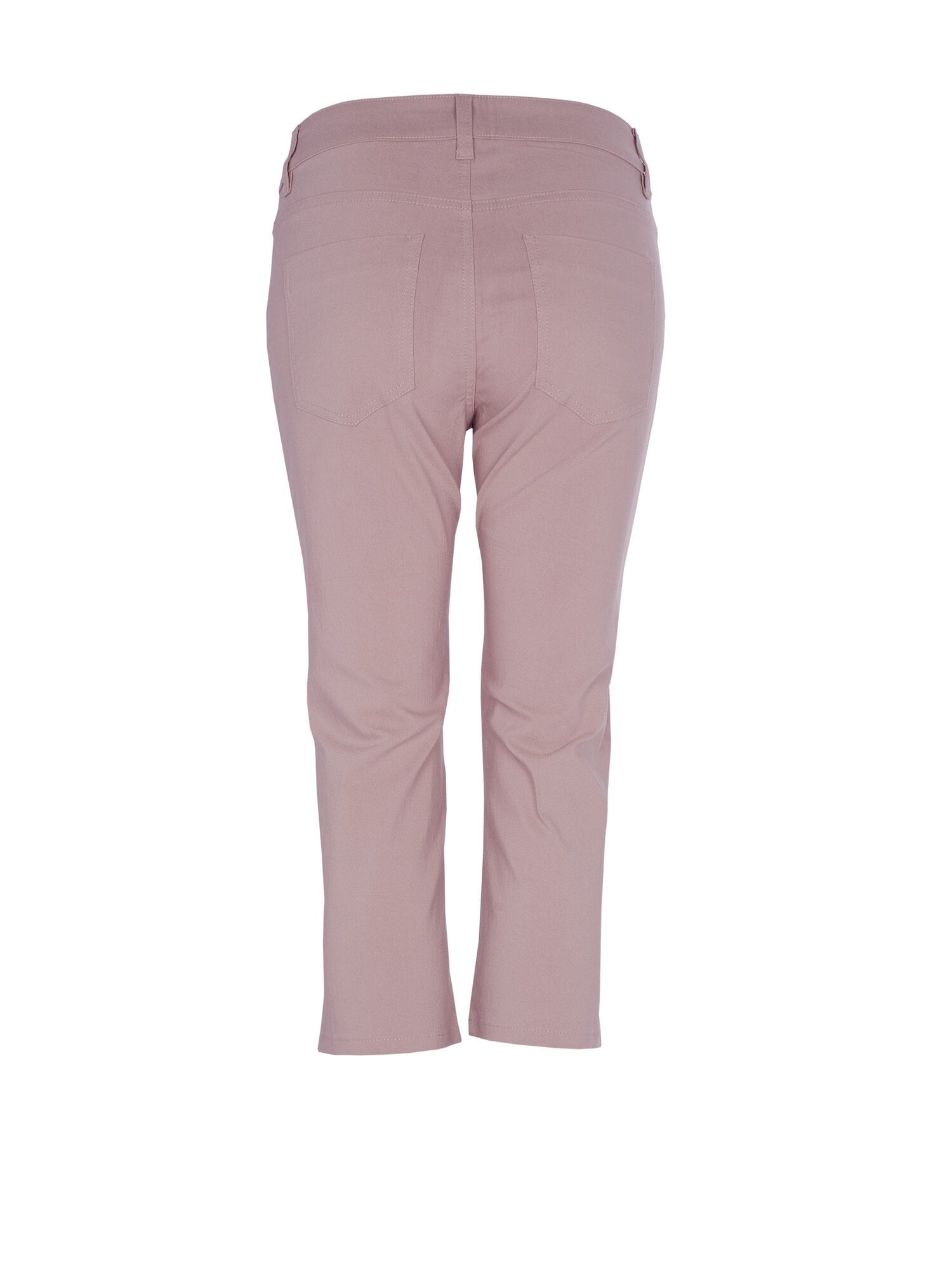 Bella Zip Capri - Dusty Pink