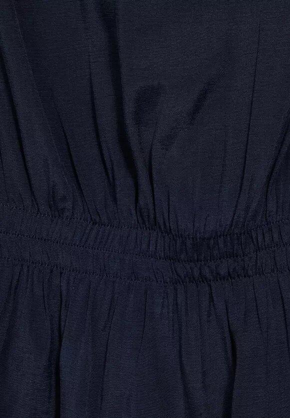 Back Mat-mix Shirt W.gat - Mellow Deep Blue